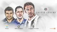 Calcio Legend (Liputan6.com/Abdillah)