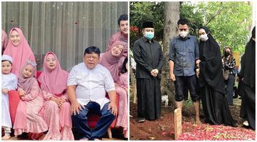 6 Potret Suasana Pemakaman Ayah Ria Ricis dan Oki Setiana Dewi, Penuh Duka