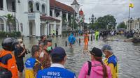 Kementerian PUPR terus berupaya menangani banjir dan rob di wilayah Pantai Utara (Pantura) Jawa dan Kota Semarang. Dok PUPR