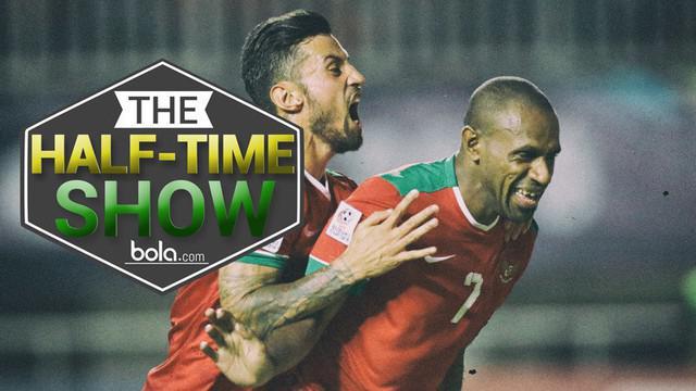 Video Half-Time Show yang membahas peluang Timnas Indonesia pada leg II semifinal Piala AFF 2016.