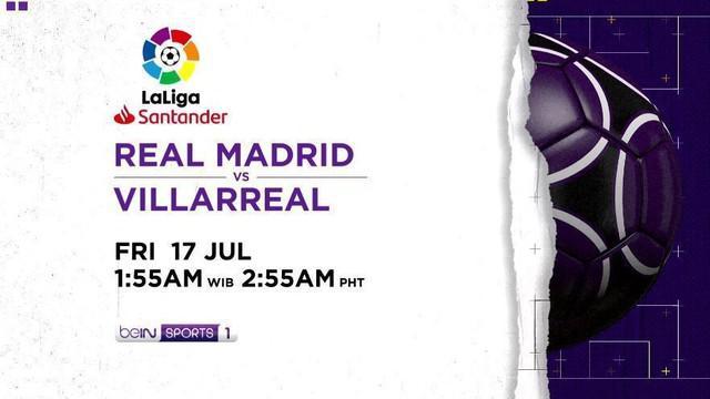 Berita Video Real Madrid Akan Pastikan Gelar La Liga Saat Hadapi Villareal Jumat Dinihari Nanti