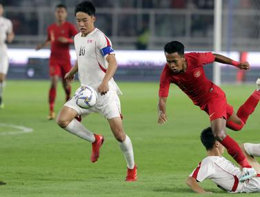 Aksi Timnas Indonesia U-19 Saat Tahan Imbang Korea Utara
