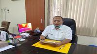 Ketua Satgas Covis-19 Indramayu Deden Bonni Koswara mengatakan kasus positif pernah melonjak dalam satu hari. Foto (Liputan6.com / Panji Prayitno)