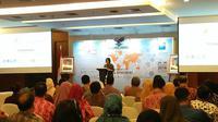 Direktur Jenderal Pengembangan Ekspor Nasional (PEN) Kemendag, Arlinda (Dok Foto : Merdeka.com/Dwi Aditya Putra)