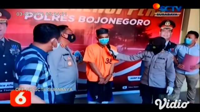 Tersangka pencurian spesialis pembobol toko ponsel, yang meresahkan masyarakat di Bojonegoro ditangkap polisi. Para pelaku terpaksa dilumpuhkan dengan timah panas, oleh petugas di bagian kaki, karena melawan saat ditangkap.