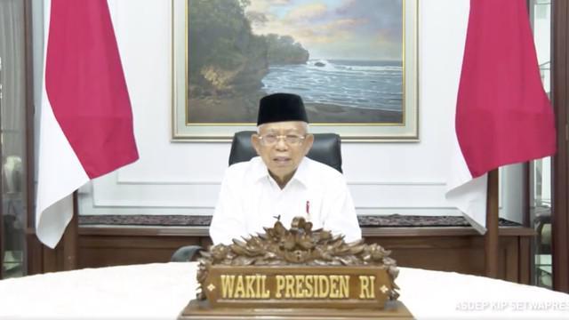 Wakil Presiden RI Ma'ruf Amin menyampaikan ucapan selamat Hari Raya Idul Fitri 1441 H pada seluruh muslim di tanah air. Ia pun meminta agar menjaga kemaslahatan bersama di hari yang fitri.