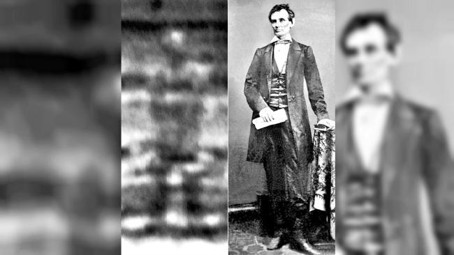 Sejumlah foto ditengarai memiliki tampilan tak sengaja hantu presiden AS Abraham Lincoln. Benarkah?