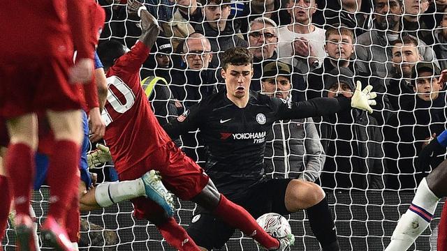 Kiper Chelsea, Kepa Arrizabalaga.