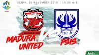 Liga 1 2018 Madura United Vs PSIS Semarang (Bola.com/Adreanus Titus)
