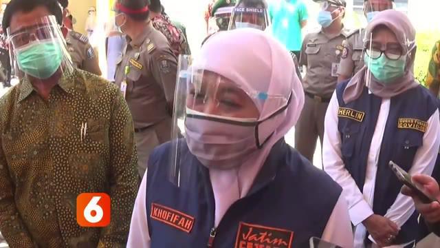 Jumlah pasien Covid-19 di Jawa Timur, hingga hari Jumat menjadi yang terbanyak di Tanah Air. Meski terbanyak, Gubernur Jawa Timur menyebut tingkat kesembuhan di Jawa Timur juga tinggi. Bahkan pada Kamis lalu ada 387 pasien yang dinyatakan sembuh.