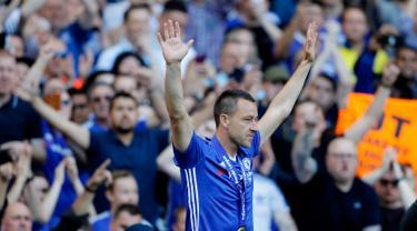John Terry Resmi Pensiun dari Chelsea