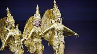 Miss Laos, pemenang Best National Costume di Miss Universe 2018. (dok.Instagram @onanong_homsombath/https://www.instagram.com/p/BrPt0fKAyJV/Henry