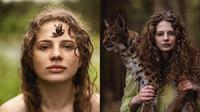 Layaknya Tarzan, Fotografer Ini Ciptakan 7 Karya Berkonsep 'Back to Nature' (sumber: Instagram.com/alexandra_bochkareva_arts)