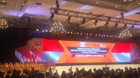 Pengukuhan Dewan Pimpinan Pusat Partai Hanura masa bakti 2019-2024 di Jakarta Covention Center, Senayan, Jumat (24/1/2020) malam. (Merdeka.com/Muhammad Genantan Saputra)