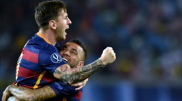 6 Patner Bermain Terbanyak Lionel Messi di Barcelona