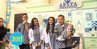 Ashanty dan Anang Hermansyah gelar acara akikah untuk anak keduanya, Arsya Akbar Pemuda Hermansyah.