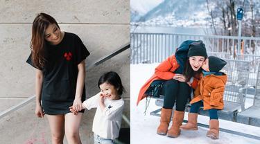 Segera Dikaruniai Anak Kedua, Ini 6 Potret Hangat Chelsea Olivia dan Nastusha
