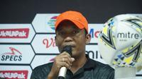 Asisten pelatih Tira-Persikabo Miftahudin Makson memuji penampilan Osas Saha. (Huyogo Simbolon)