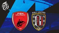 BRI Liga 1 - PSM Makassar Vs Bali United (Bola.com/Adreanus Titus)
