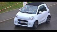 Smart EQ Fortwo facelift (Carscoops)