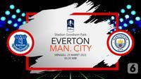 Everton vs Manchester City (liputan6.com/Abdillah)