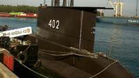Kapal selam KRI Nanggala 402. (Liputan6.com/Yandhi Deslatama)