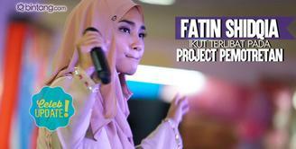 Fatin Shidqia terlibat sebuah project photoshoot. Seperti ini ceritanya.