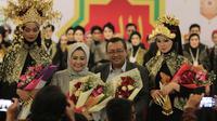 Anna Mariana dalam Indonesia Internasional Islamic Fair (IIIF) 2019. (Istimewa)