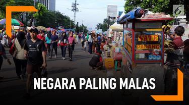 Indonesia Negara Paling Malas Jalan Kaki Sedunia