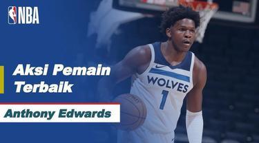 Berita video aksi-aksi terbaik dari bintang Minnesota Timberwolves, Anthony Edwards, yang mencetak 42 poin dalam laga musim reguler NBA 2020/2021 hari ini, Kamis (6/5/2021) pagi hari WIB.