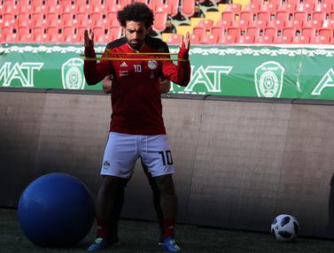 Mohamed Salah yang Terus Berjuang Sembuh dari Cedera Bahu