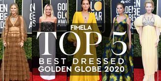 5 Gaun Terbaik di Golden Globe 2020