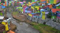 Kampung Warna - Warni Kota Malang, Jawa Timur (Zainul Arifin/Liputan6.com)
