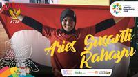 Garuda Kita Asian Games Aries Susanti Rahayu (Bola.com/Foto: Riska Prasetya /Grafis: Adreanus Titus)