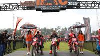Kejuaraan reli motor yang mengadalkan ketahanan Indonesia Enduro Rally Championship sudah dimulai dari Gunung Kelud Kediri, Jumat (20/11/2020) (istimewa)