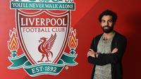 Mohamed Salah adalah pemain kelahiran Basyoun, Mesir 15 Juni 1992 (25) adalah yang sedang ramai diperbincangkan, sebelum bermain untuk Liverpool, Salah pernah direkrut Chelsea musim 2014-2016. (Bola.com/LiverpoolFC)