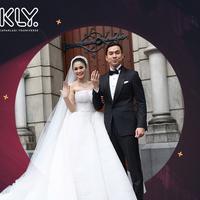 Bukan hanya masjid, sejumlah artis pun menikah di gereja bersejarah. (Foto: Bintang Pictures, DI: Nurman Abdul Hakim/Bintang.com)