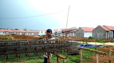 Ilustrasi proyek pembangunan perumahan