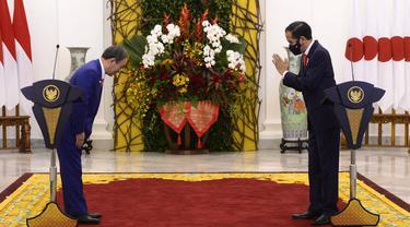 Jokowi Terima Kunjungan Kenegaraan PM Jepang