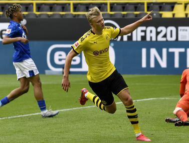 Borussia Dortmund Pesta Gol ke Gawang Schalke 04