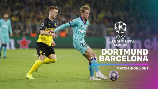 Berita video highlights Liga Champions 2019-2020 antara Borussia Dortmund melawan Barcelona yang berakhir dengan skor 0-0, Selasa (17/9/2019).