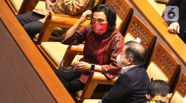 DPR Gelar Rapat Paripurna Bahas Kebijakan Fiskal RAPBN Tahun 2022