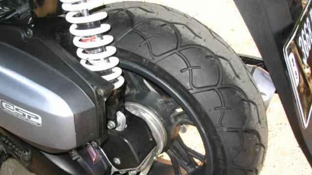 Dampak Penggunaan Ban Lebar Pada Motor Matik