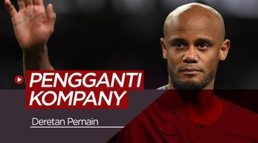 Berita video para calon pengganti Vincent Kompany di Manchester City, siapa saja mereka?