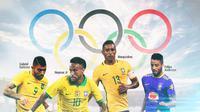 Olimpiade - Timnas Brasil (Bola.com/Adreanus Titus)