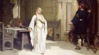 Lukisan Lady Godiva karya Edmund Blair Leighton  (Wikipedia/Public Domain)