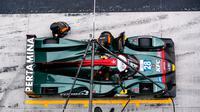 Sean Gelael ketika mengikuti seri ketiga Asian Le Mans Series 2021 di Sirkuit Yas Marina, Abu Dhabi, Jumat (19/02/2021).