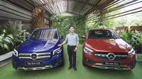 Mercedes-Benz secara resmi meluncurkan dua model terbaru yakni GLA dan GLB, secara virtual, Kamis (24/9/2020).