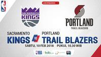 Sacramento Kings Vs Portland Trail Blazers_2 (Bola.com/Adreanus Titus)