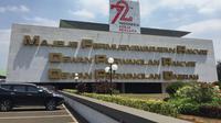 Gedung DPR/MPR di Jalan Jenderal Gatot Subroto, Jakarta. (Liputan6.com/Devira Prastiwi)
